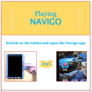 step by step guide to playing Navigo poster